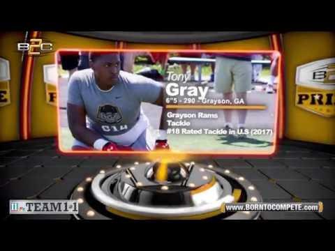 Tony Gray - 4 Star Recruit (Grayson HS)