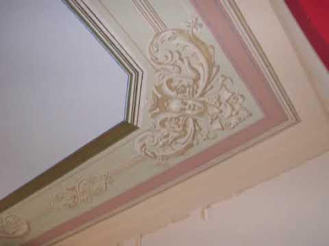 intervento di restauro soffitto - terrylomonaco - youtube