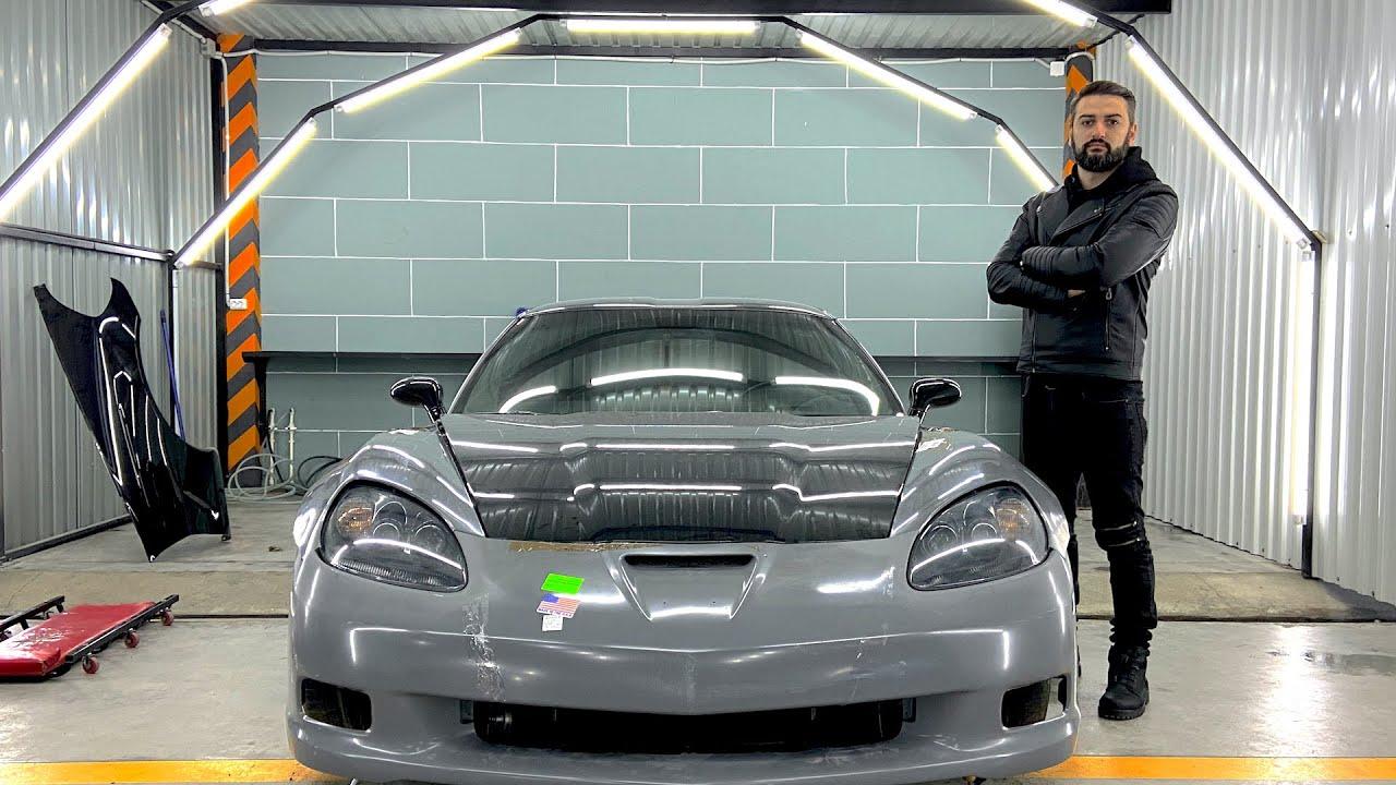 პროექტი – Corvette base to ZR1 – დასაწყისი!