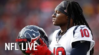 Deandre hopkins will continue to be a top-5 wr in 2019 - john fox | nfl live