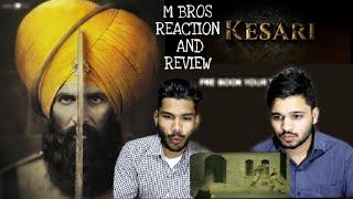 Kesari | Official Trailer Reaction And Review | Akshay Kumar | Parineeti Chopra | M Bros India