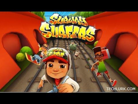 Subway Surfers   Jeux Gratuit   Play Store/Apple Store   Courez Courez Vous M'attraperez Pas !! :P