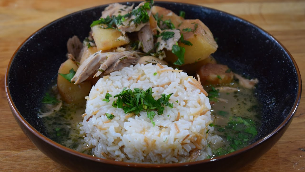 You've been served: Yakhni batata