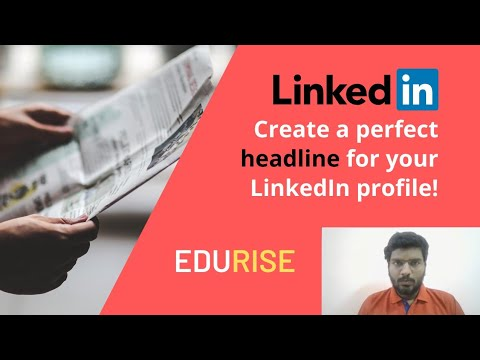 How to Optimize Your LinkedIn Profile: Your Headline from YouTube · Duration:  8 minutes 23 seconds