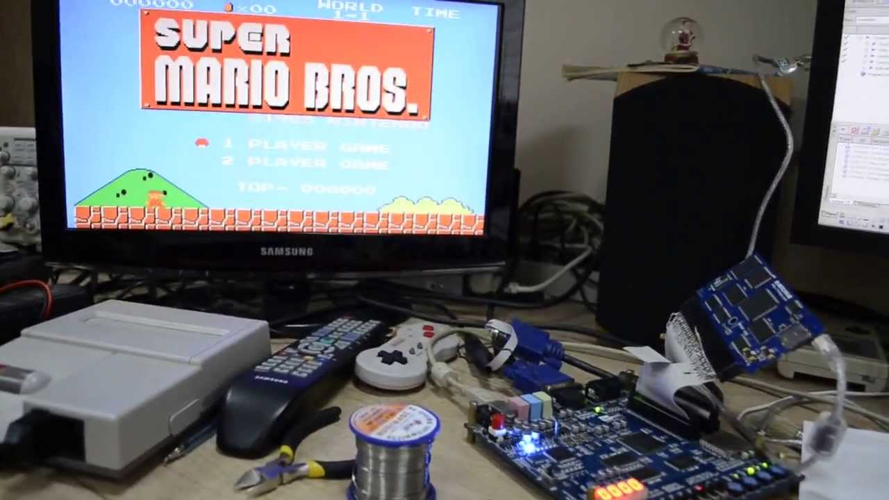 how to connect nes with rgb
