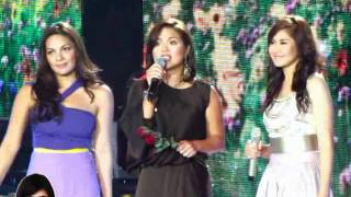 Sarah Geronimo, KC Concepcion, and Judy Ann Santos - Who Says OFFCAM (14Aug11)