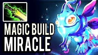 Imba Damage Puck 7.04 Meta Magic Build by Miracle- Dota 2