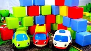 Мультики про машинки - Кубики і розвиваюче відео