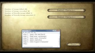 How To Hack Mount And Blade Warband Campaign
