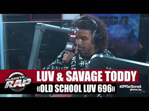 Youtube: [Exclu] Savage Toddy«Old School Luv 696» ft Luv Resval #PlanèteRap