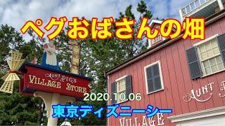 ペグおばさんの畑 2020.10.06 TDS ディズニーシー Tokyo DisneySEA Aunt Peg ケープコッド