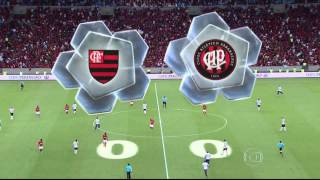 Flamengo x Atletico PR - Final da Copa do Brasil 2013 - TV Globo HD