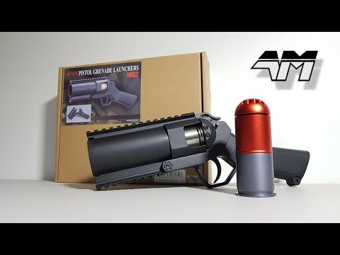 CYMA M052 40MM AIRSOFT GRENADE LAUNCHER / Unboxing Review