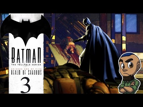 BATMAN: THE TELLTALE SERIES | Episode 1 Gameplay Walkthrough | Part 3 (Massacre)