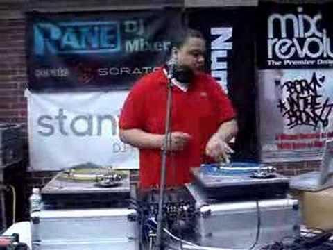 DJ FATFINGAZ  @ THE TURNTABLIST SESSIONS 2007 QUEENSBRIDGE