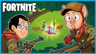We Go NOOB HUNTING in Fortnite: Battle Royale! (Fortnite Hunting Rifle Funny Moments & Fails)