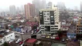 Antofagasta. Lluvia Torrencial 25 de Marzo de 2015