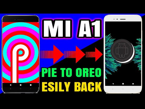 Mi A1 bootloop fix after Android 9 - Pie Update,mi a1 downgrade - Brick solution from pie to OREO