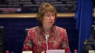 Extracts from the statement on Ukraine by Catherine ASHTON on 11 February 2014, in Brussels.
