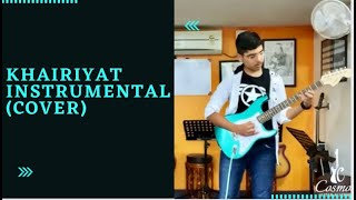 Khairiyat (instrumental cover)   Chhichhore   Krishna Bhagchandani   Cosmos Guitar Academy