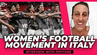 Story behind the Macarena Italy Women s World Cup Interview with Rosalia Pipitone