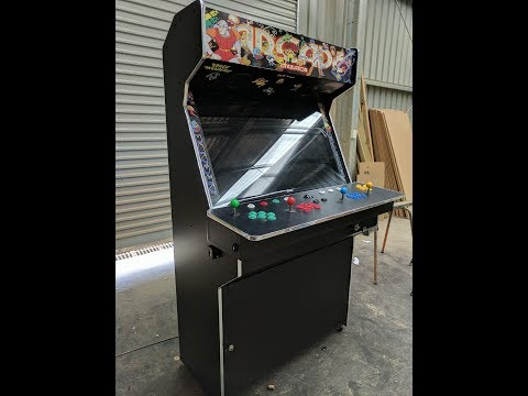 "Massive arcade build, from start to finish, 42"" screen, 4 player"