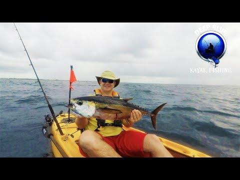 Kayak Fishing Offshore Catching Jumbo Tuna, Kings and Paying the Tax Man