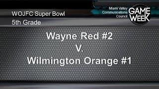 Pee Wee Super Bowl 5th Grade