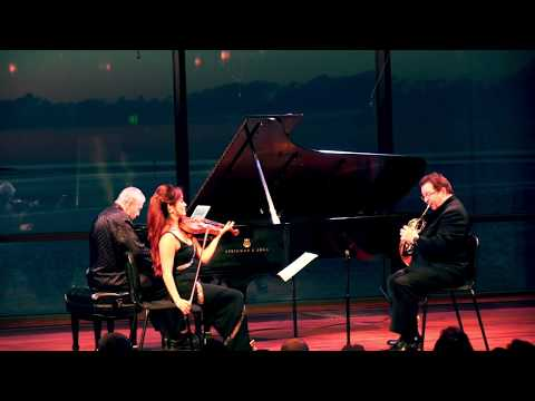 Brahms Horn Trio in E-Flat Major, Op. 40- Finale: Allegro con brio
