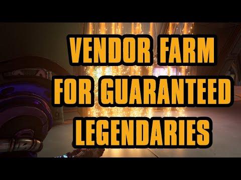 100% Legendary chance from Vendors | Borderlands 3 Fast vendors to farm!