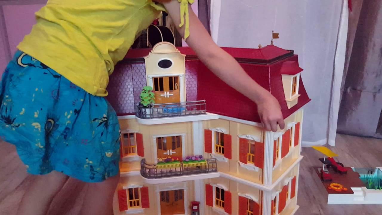 video grande maison playmobil naomie demange