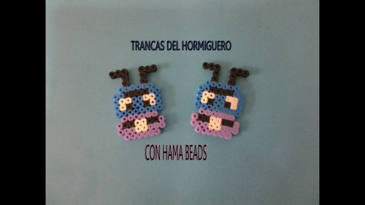 Como Hacer A La Hormiga Trancas Con Hama Beads Youtube Hama beads is a versatile, creative and innovative hobby, of which you, your child or grandchild can produce the funniest and most decorative characters. como hacer a la hormiga trancas con hama beads