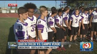 Field Trip Friday: Meeting the kids of Queen Creek High School