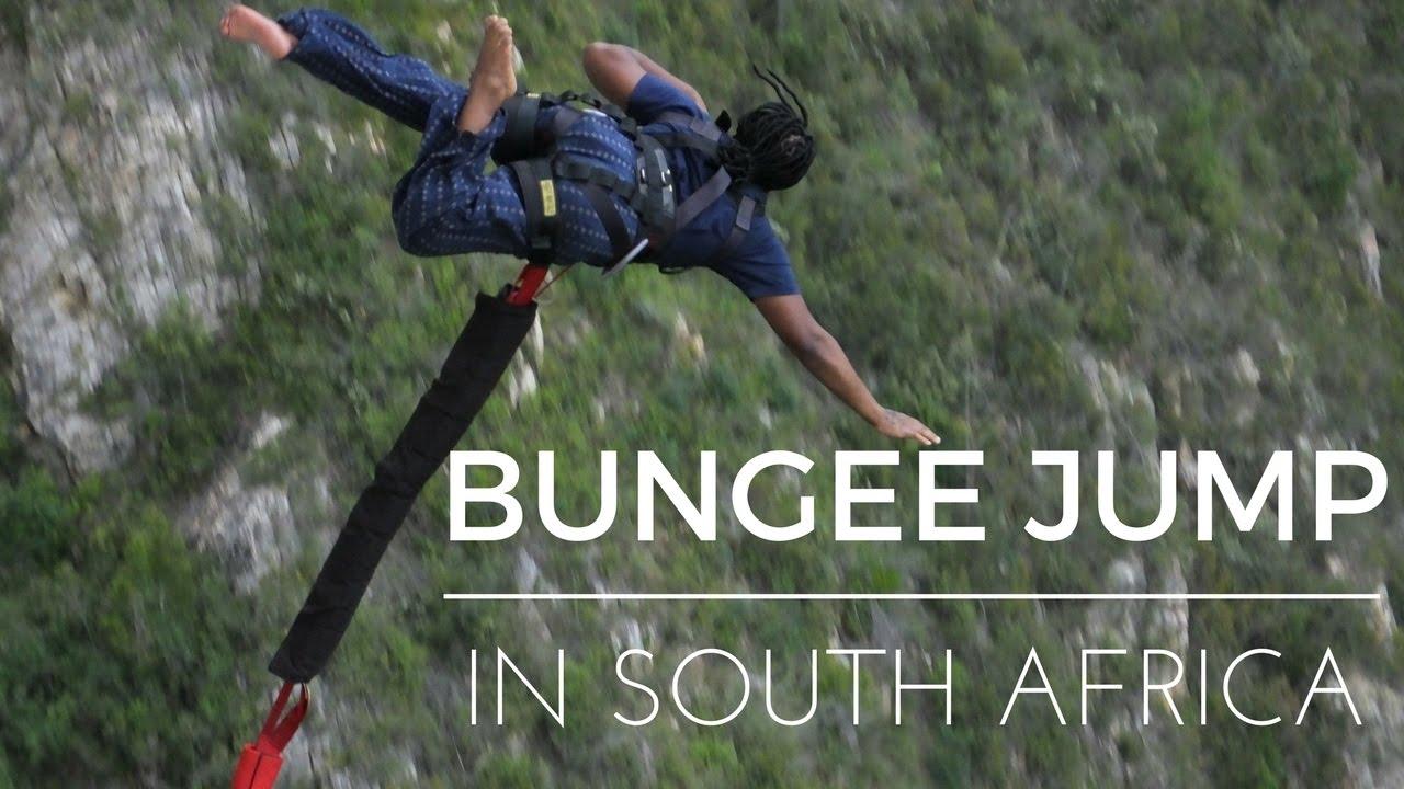 Bloukrans Bridge Bungee Jump in South Africa   JAYONLIFE