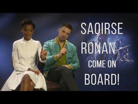 'Saoirse Ronan - Come On Board!' - Letitia Wright and Sebastian Stan Talk Avengers: Infinity War