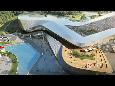 Architectural Visualization| CGI|3D Animation -Yibin Convention Center by Danh Vision
