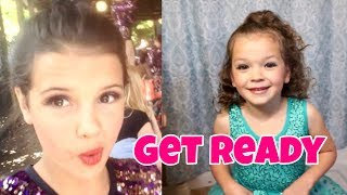 GET READY WITH ME TEEN & TODDLER  | Dance & Birthday