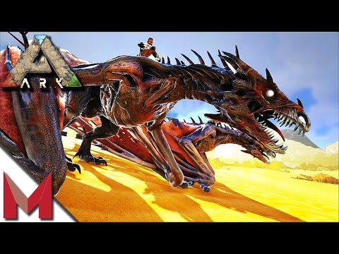 WORLD FIRST DODOWYVERN KILL ON OFFICIAL -=- ARK: SCORCHED EARTH GAMEPLAY -=- MI 6