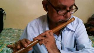 Patil flutist - Ye Raaten Ye Mausam Nadi Ka Kinaara Instrumental Cover on Flute by Balakrishna Patil