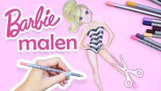 How to draw BARBIE SKIN | Haut malen von Barbie | Tipps für Anfänger || Foxy Draws