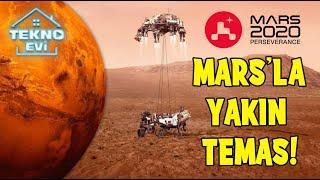 Perseverance Rover Mars'a başarıyla indi! #Mars #Uzay #PerseveranceRover