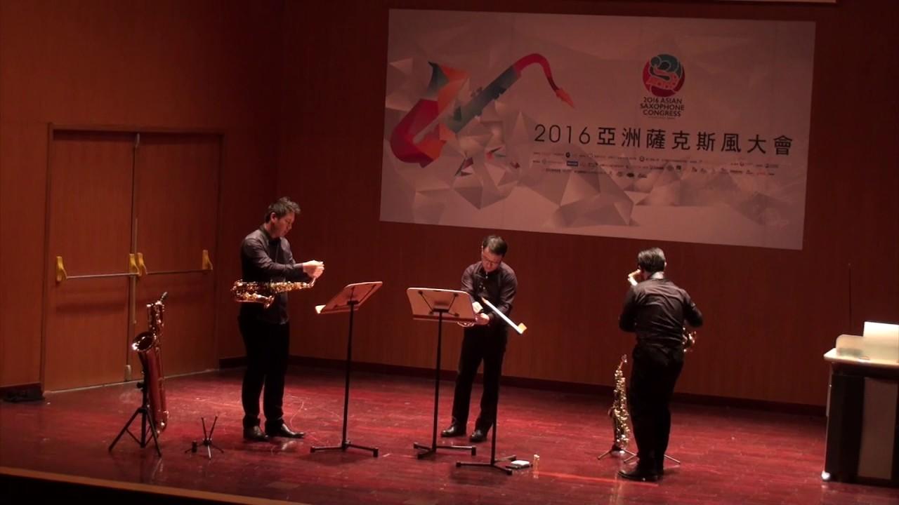 Six Pièces D'Audition pour trois Saxophones - Jean-Michel Defaye