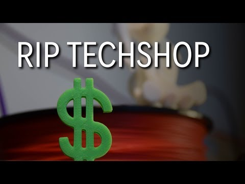TechShop Closes Doors - The Makerspace Conundrum. WAS LIVE