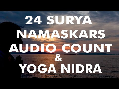 cardio-yoga-workout-|-yoga-for-weight-loss-|-24-sun-salutations-audio-count-+-relaxation