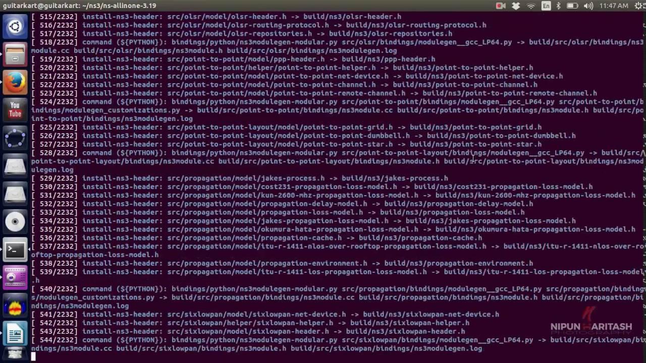 Tutorial:24 NS3 Installation on Ubuntu 14 04 ( Step By Step )