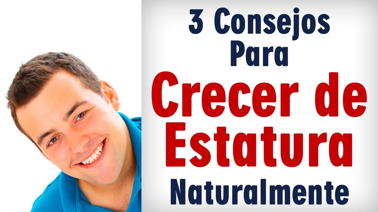 091a01ec Como Crecer de Estatura Naturalmente: 3 Consejos - YouTube