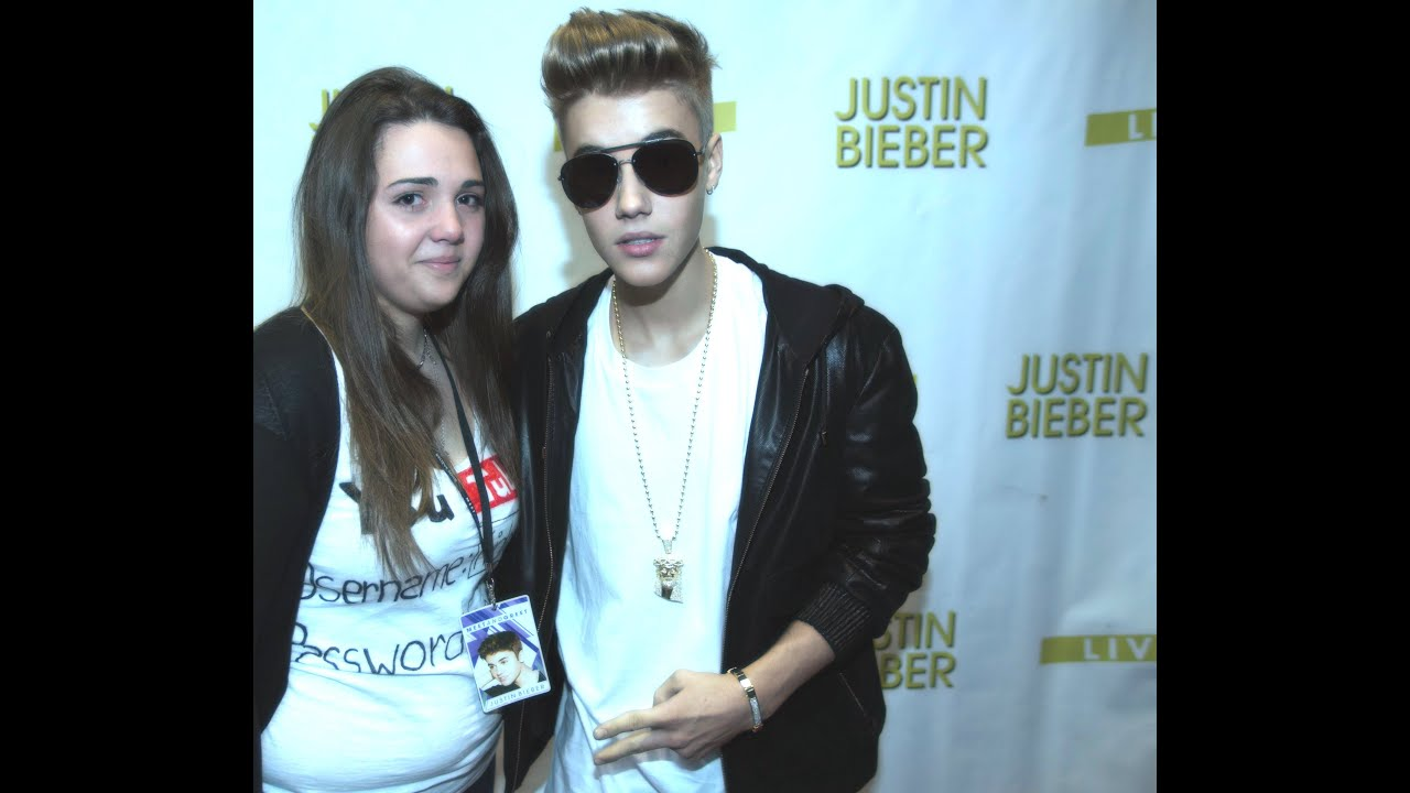 justin bieber meet and greet video