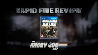 Days Gone Rapid Fire Review (Video Game Video Review)