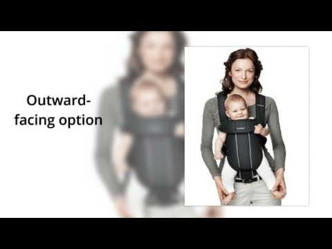 1996720e778 BABYBJORN Baby Carrier Original, Black, Cotton
