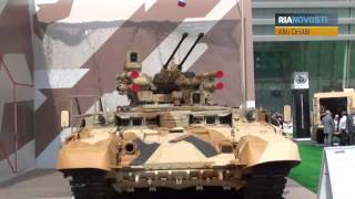 Russian Tank T-90S Steals the Show in Abu Dhabi